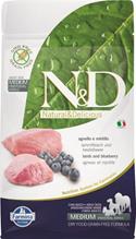 Заказать Farmina N&D GF Adult Medium Lamb & Blueberry / Беззерновой корм для собак Ягненок и Черника по цене 800 руб