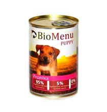 BioMenu Puppy / Консервы для Щенков Индейка Цена за упаковку 410x12