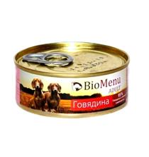 BioMenu Adult / Консервы для Собак Говядина Цена за упаковку 100x24