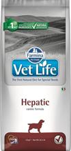 Farmina Vet Life Hepatic / Лечебный корм Фармина для собак при хронической Печеночной недостаточности