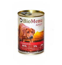 BioMenu Adult / Консервы для Собак Говядина Цена за упаковку 410x12