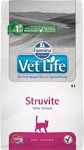 Farmina Vet Life Struvite / Лечебный корм Фармина для кошек при МКБ (струвиты)