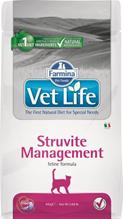 Farmina Vet Life Struvite Management / Лечебный корм Фармина для кошек при МКБ и идиопатическом Цистите
