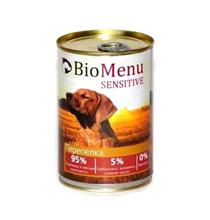BioMenu Sensitive / Консервы для Собак Перепелка Цена за упаковку 410x12