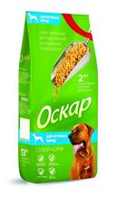 Заказать Оскар Сухой корм для собак Крупных пород по цене 1200 руб
