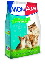 Заказать MonAmi / Сухой корм МонАми для кошек Курица по цене 1200 руб