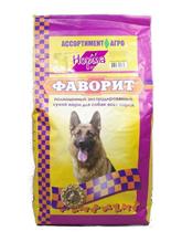 Заказать Фаворит сухой корм для собак Норма по цене 1320 руб