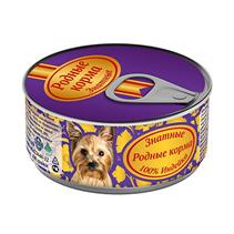 Родные Корма / Консервы Знатные для собак 100% Индейка (цена за упаковку)