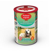 Родные Корма / Консервы для собак Жареха мясная по-Двински (цена за упаковку)