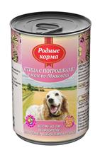Родные Корма / Консервы для собак Птица с потрошками в желе по-Московски (цена за упаковку)