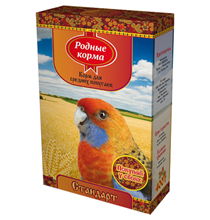 Родные Корма / Корм Стандарт для Средних попугаев