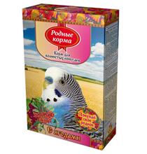 Родные Корма / Корм с Ягодами для Волнистых попугаев