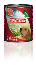 Заказать Трапеза Консервы для собак Птица Цена за упаковку по цене 930 руб