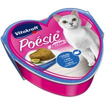 Заказать Vitakraft Poesie / Консервы для кошек Камбала в яйце террин по цене 1050 руб