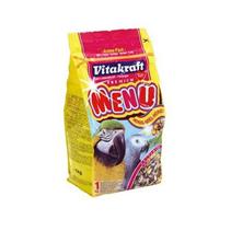 Заказать Vitakraft Menu / Основной корм для Крупных попугаев Жако, Ара 1кг по цене 370 руб