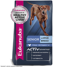 Eukanuba Mature & Senior Large Breed / Сухой корм Эукануба для пожилых собак Крупных пород с Курицей