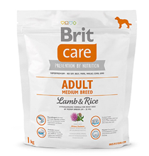 Brit Care Adult Medium Breed / Сухой корм Брит для взрослых собак Средних пород Ягненок Рис