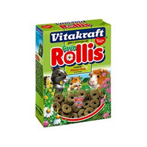 Заказать Vitakraft Grun Rollis / Корм для грызунов Смешаный Колечки по цене 220 руб