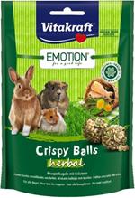 Заказать Vitakraft / Лакомство для Грызунов Crispy шарики Травяные по цене 250 руб