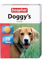 """Beaphar Doggy's+Liver / Кормовая добавка Беафар для собак с Печенью (""""кружочки"""")"""