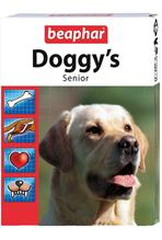 Beaphar Doggy's Senior / Кормовая добавка Беафар для Пожилых собак (старше 7 лет) Минеральная с L-карнитином