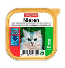 Beaphar Nieren Ente / Полнорационный диетический корм Беафар Паштет с Уткой для кошек с почечной недостаточностью