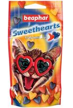 Beaphar Sweet Hearts / Лакомство Беафар для Котят и Кошек Разноцветные сердечки Витамины и Минералы