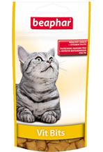 Beaphar Vit Bits / Подушечки Беафар для кошек с Мульти-витаминной пастой