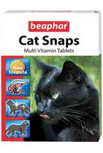 Beaphar Cat Snaps Multi Vitamin Tablets / Мультивитамины Беафар для кошек