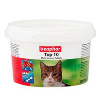 Beaphar Top 10 Multi Vitamin Tablets / Мультивитамины Беафар для кошек