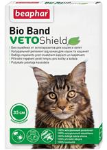 Beaphar Bio Band VetoShield / Био Ошейник Беафар от Эктопаразитов (4 мес) для кошек и Котят с 2 месяцев