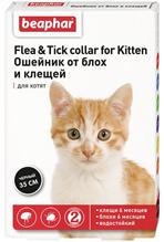 Beaphar Flea&Tick collar for Kitten / Ошейник от Блох 6 месяцев и Клещей 6 месяцев для Котят 35 см