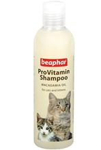Beaphar ProVitamin Shampoo Macadamia Oil / Шампунь Беафар с маслом Австралийского ореха для кошек и Котят с Чувствительной кожей