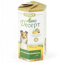 Заказать Titbit / Био Десерт Мясное печенье для собак с Пшеничным зародышем Mini для Дрессуры по цене 140 руб