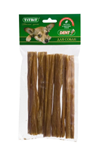 Заказать Titbit Dental+ / Лакомый кусочек Лакомство для собак Кишки Говяжьи XХL по цене 220 руб