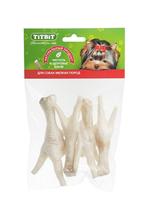 Titbit Dental+ Лакомый кусочек / Лакомство Титбит для собак Мелких пород Лапки Куриные