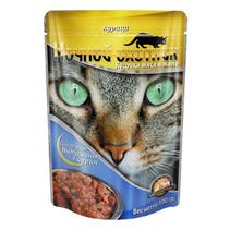 Ночной охотник / Паучи для кошек Курица в желе (цена за упаковку)