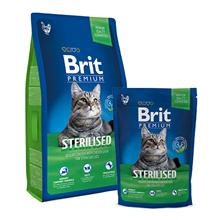 Brit Premium Sterilised / Сухой корм Брит Премиум для Стерилизованных кошек Курица и куриная печень