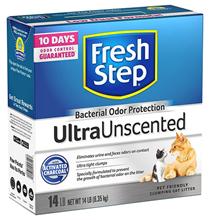 Fresh Step UltraUnscented / Наполнитель для кошачьего туалета Фреш Степ Комкующийся с Активированным углем