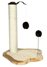 """Заказать Trixie Когтеточка для кошек """"Лапка"""" со столбиком Сизаль / Плюш по цене 1670 руб"""