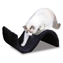"Trixie / Когтеточка для кошек Трикси ""Волна"" Коричневая Сизаль/Плюш"