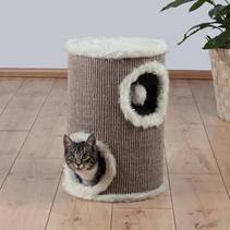"""Trixie / Домик для кошек Трикси """"Башня"""" Коричневый/Бежевый"""