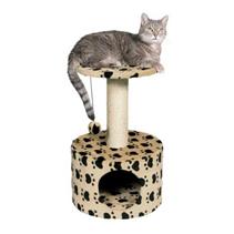 "Trixie / Домик для кошек Трикси ""Toledo"" ""Кошачьи Лапки"" Бежевый высота"