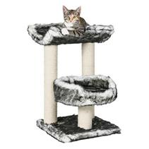 """Trixie / Домик для кошек Трикси """"Isaba"""" Черный/Белый"""