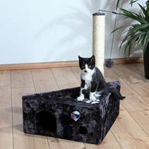 """Заказать Trixie / Домик для кошек """"Murcia"""" Антрацит по цене 2950 руб"""