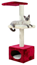 """Заказать Trixie Домик для кошек """"Elena"""" Бежевый / Красный по цене 3200 руб"""