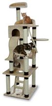 """Заказать Trixie Домик для кошек """"Adiva"""" Бежевый / Коричневый по цене 25080 руб"""