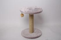 Лион / Когтеточка для кошек Искусственный мех Веревка джут 30х40х30см