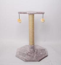 Лион / Когтеточка для кошек Искусственный мех Веревка джут 38х55х38см