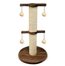 Лион / Когтеточка для кошек Искусственный мех Веревка джут 40х70х40см